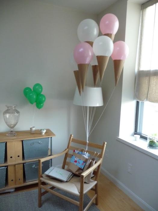 Как украсить дом на день рождения своими руками фото