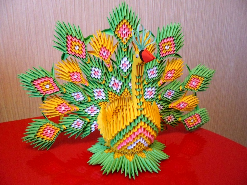 создать модульное оригами